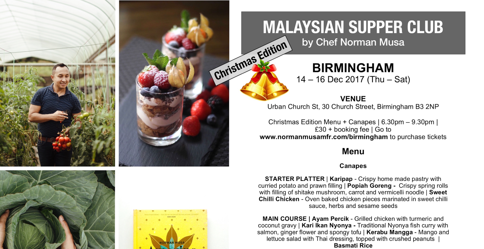 Malaysian Supper Club by Norman Musa - Birmingham