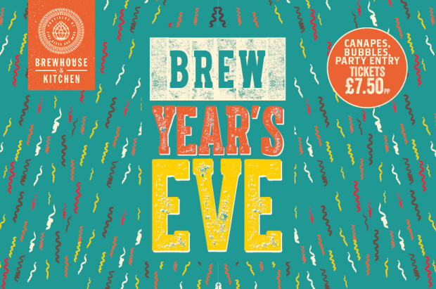 Brewhouse and Kitchen NYE events