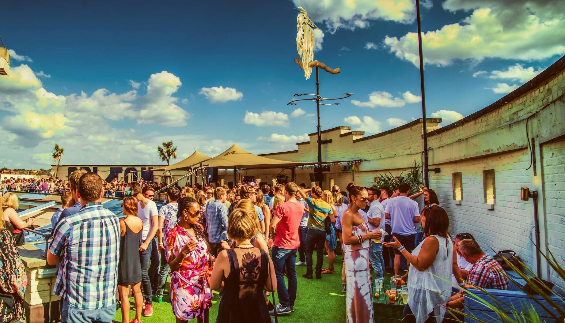 Brixton's Summer Rooftop Disco Party: Byday Bynight