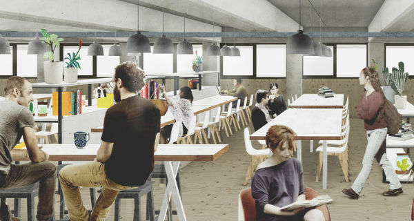 the ramp new coworking hub in peckham levels