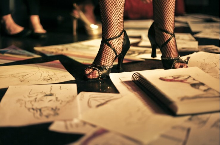 Dr. Sketchy's - Cabaret Life Drawing Class