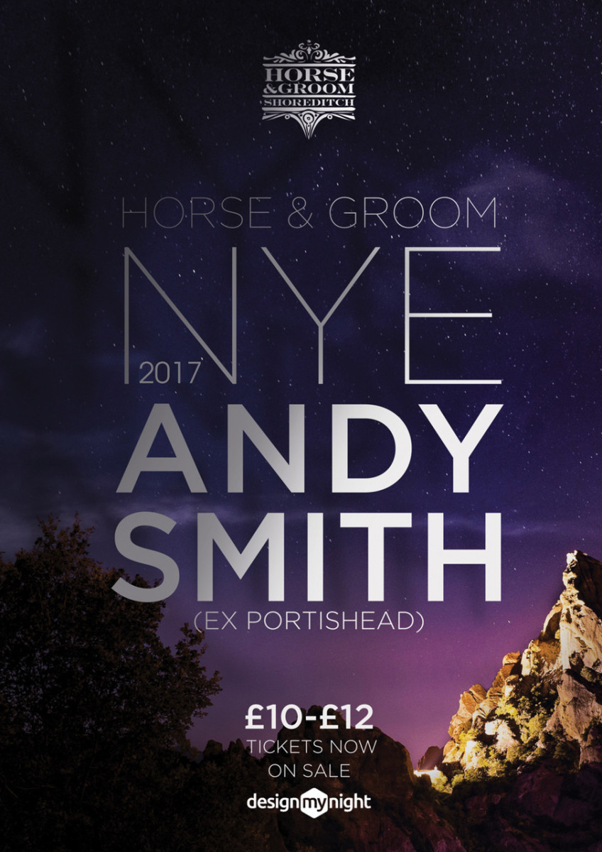 Dj Andy Smith (Ex Portishead) Reach up 'NYE'  DIsco Wonderland!'