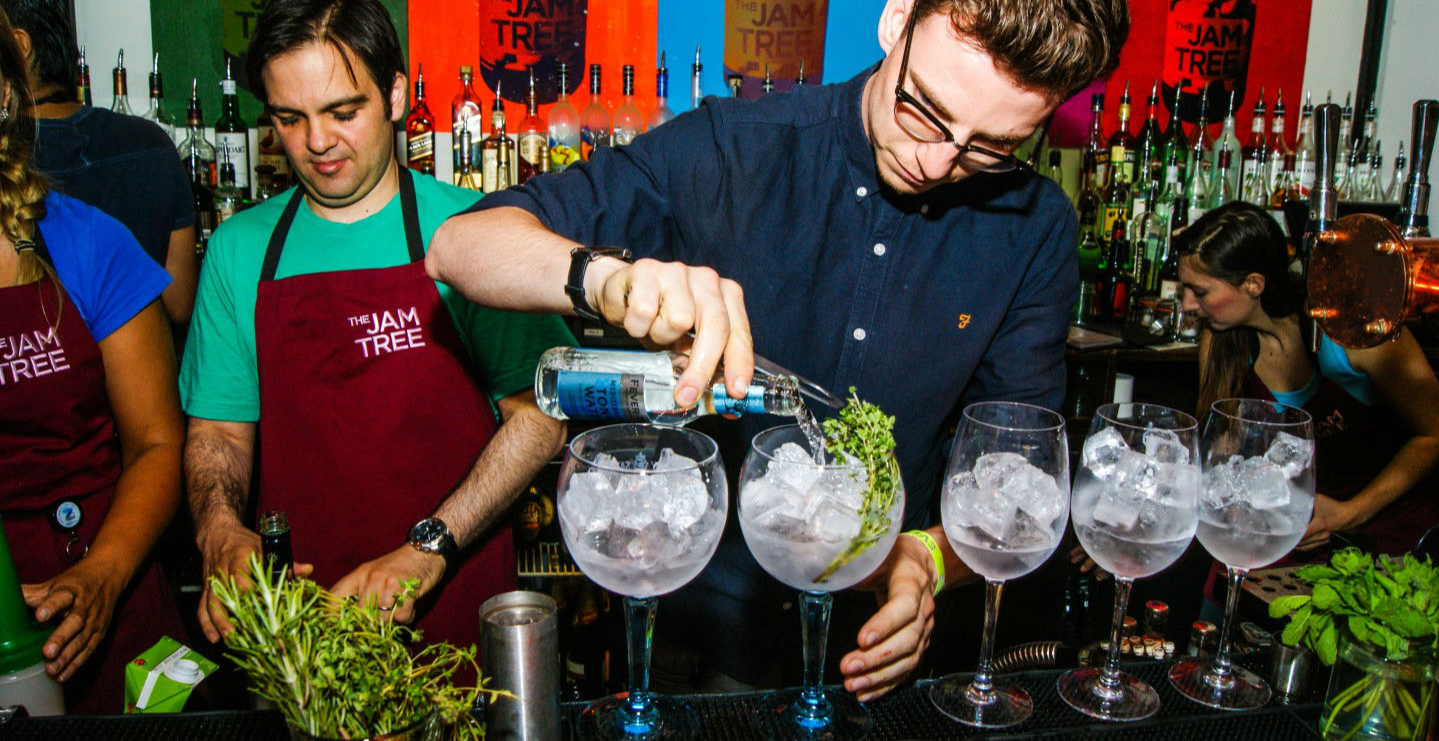 GINgo Unchained: gin-tasting & singles night at The Jam Tree