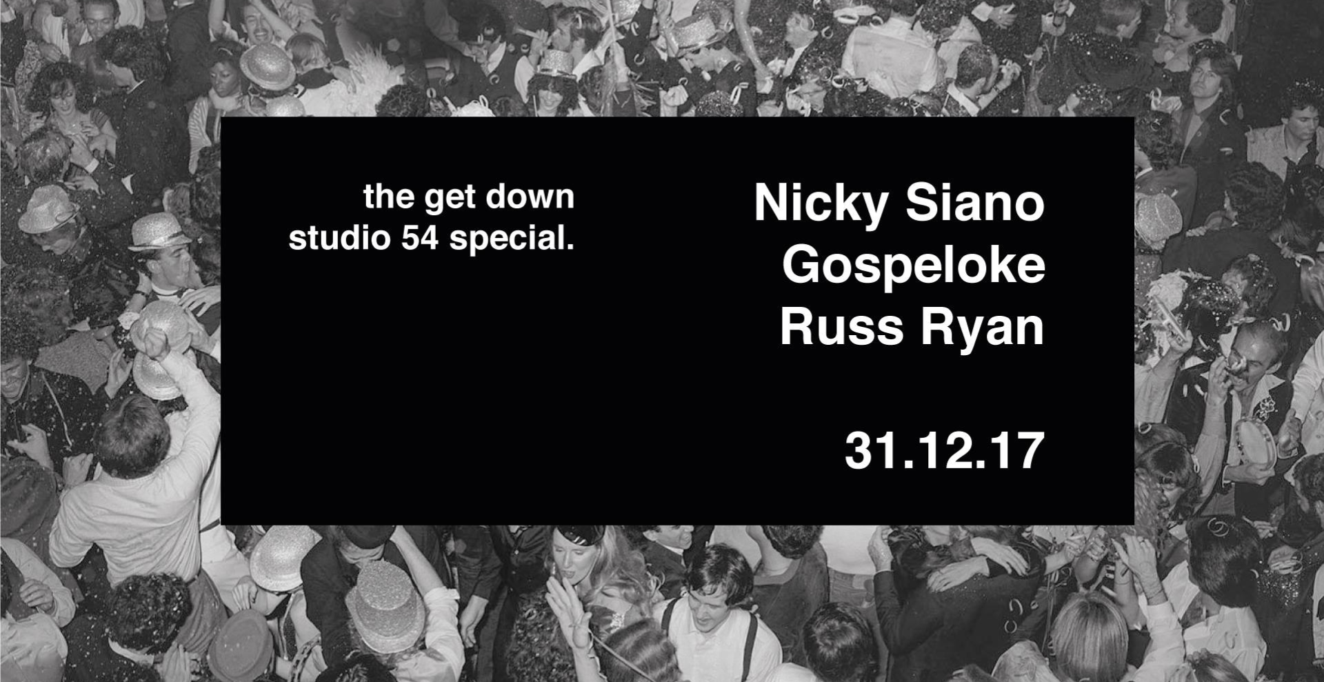 Studio 54  New Year's Eve Special