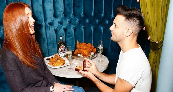 This Restaurant Is Letting You Propose With A Deep Fried Chicken