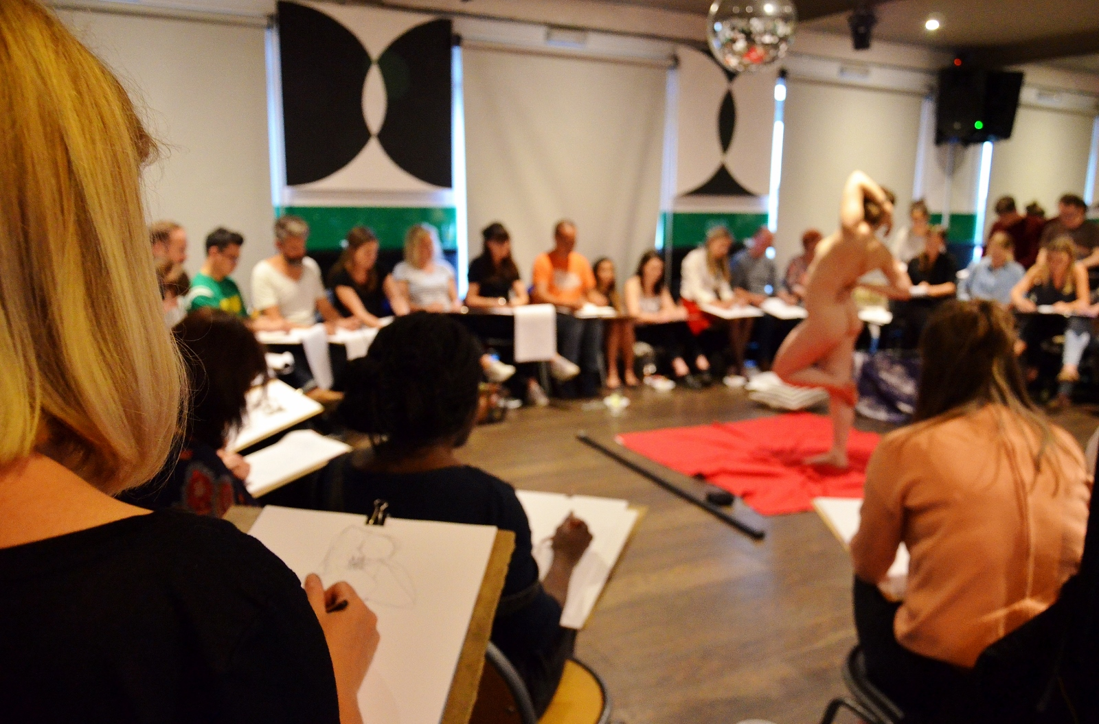 NAKED BRUNCH: Life Drawing Followed by Brunch
