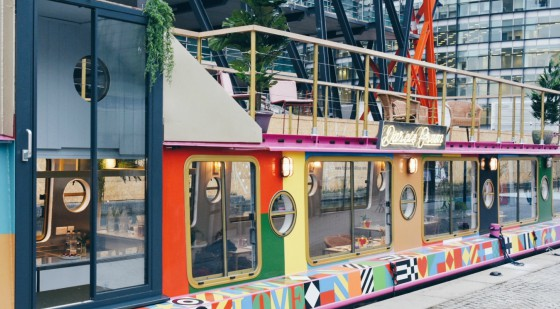 Darcie & May Green Daisy Green have created the ultimate brunch spot with their new floating Australian restaurants