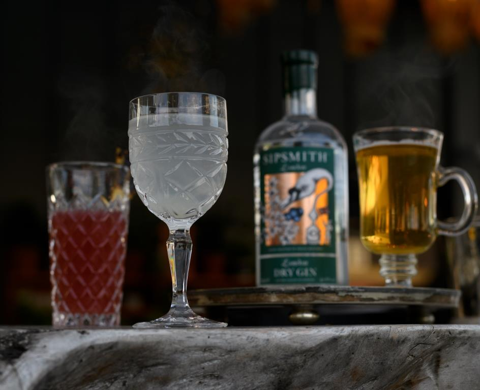 Sipsmith and Ham Yard Hotel Presents Hot Gin Roof: Returns with a Poke