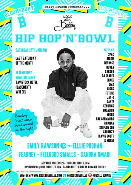 Rock The Belles x Hiphop'N'Bowl