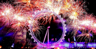 2019 New Year's Eve Party & Firework View at Ping Pong Southbank
