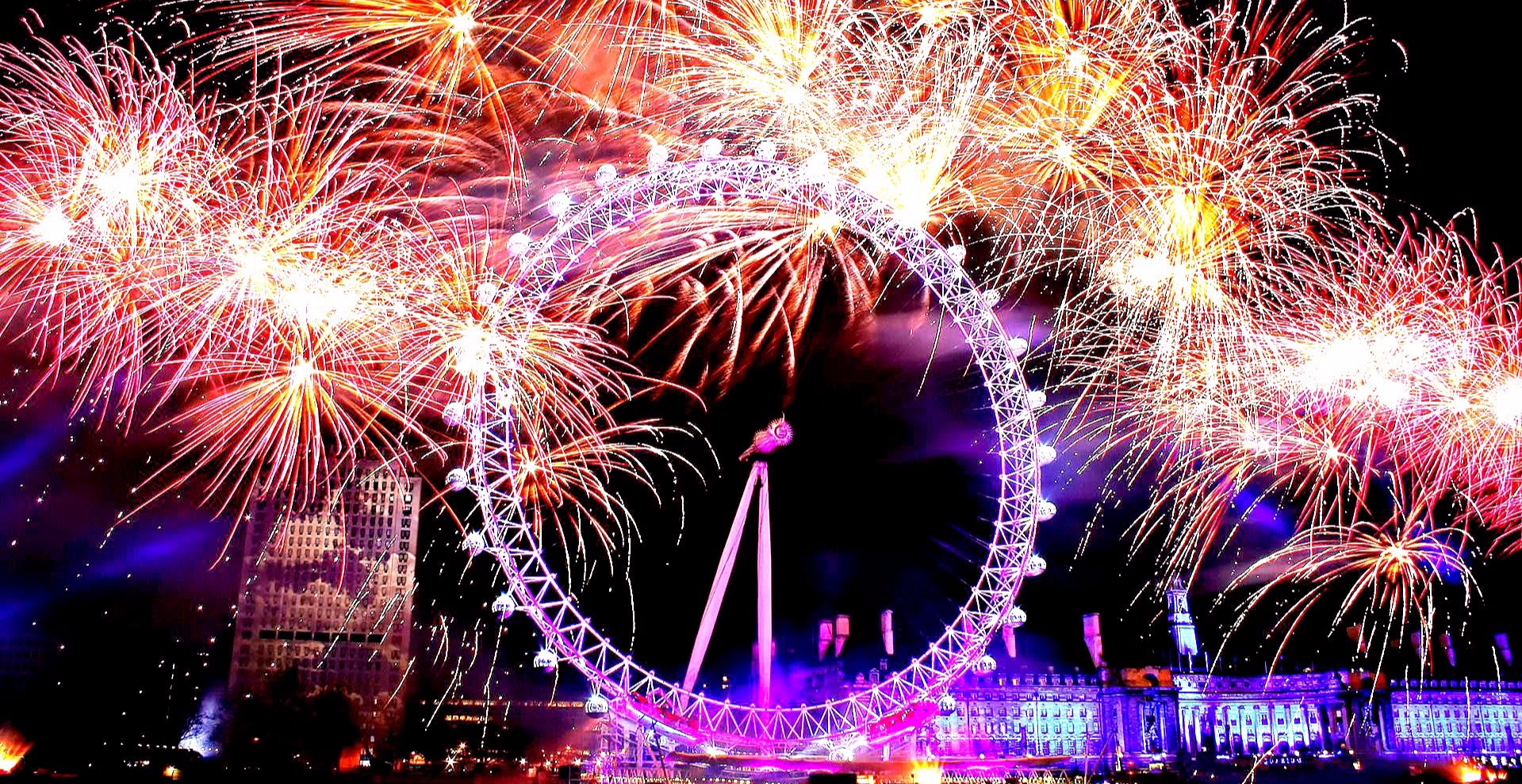 2019 New Year S Eve Party Firework View At Ping Pong Southbank Southbank London New Years Eve Party Reviews Designmynight