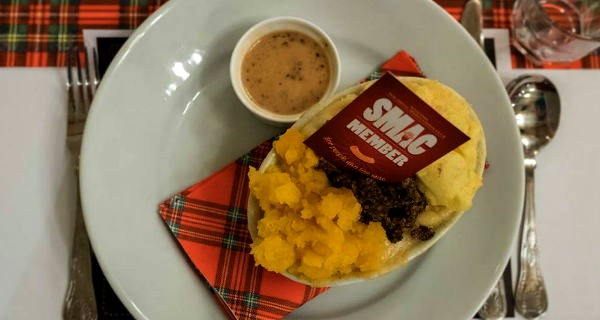 haggis mac and cheese burns night 2018 glasgow