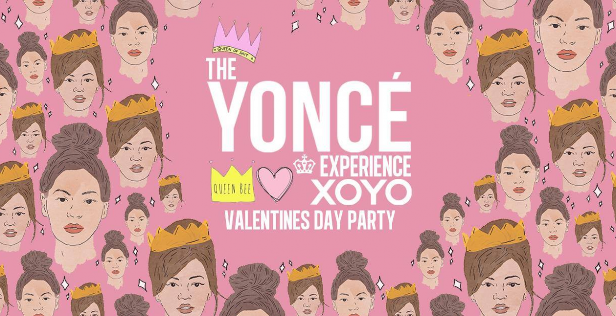 The Yoncé 'Valentines Day' Experience