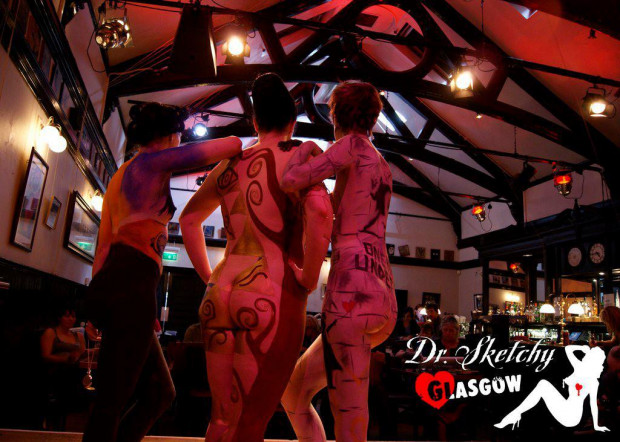 Dr Sketchy Glasgow