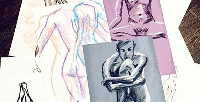 Naked Brunch/Dinner: Life Drawing followed by Brunch or Dinner!