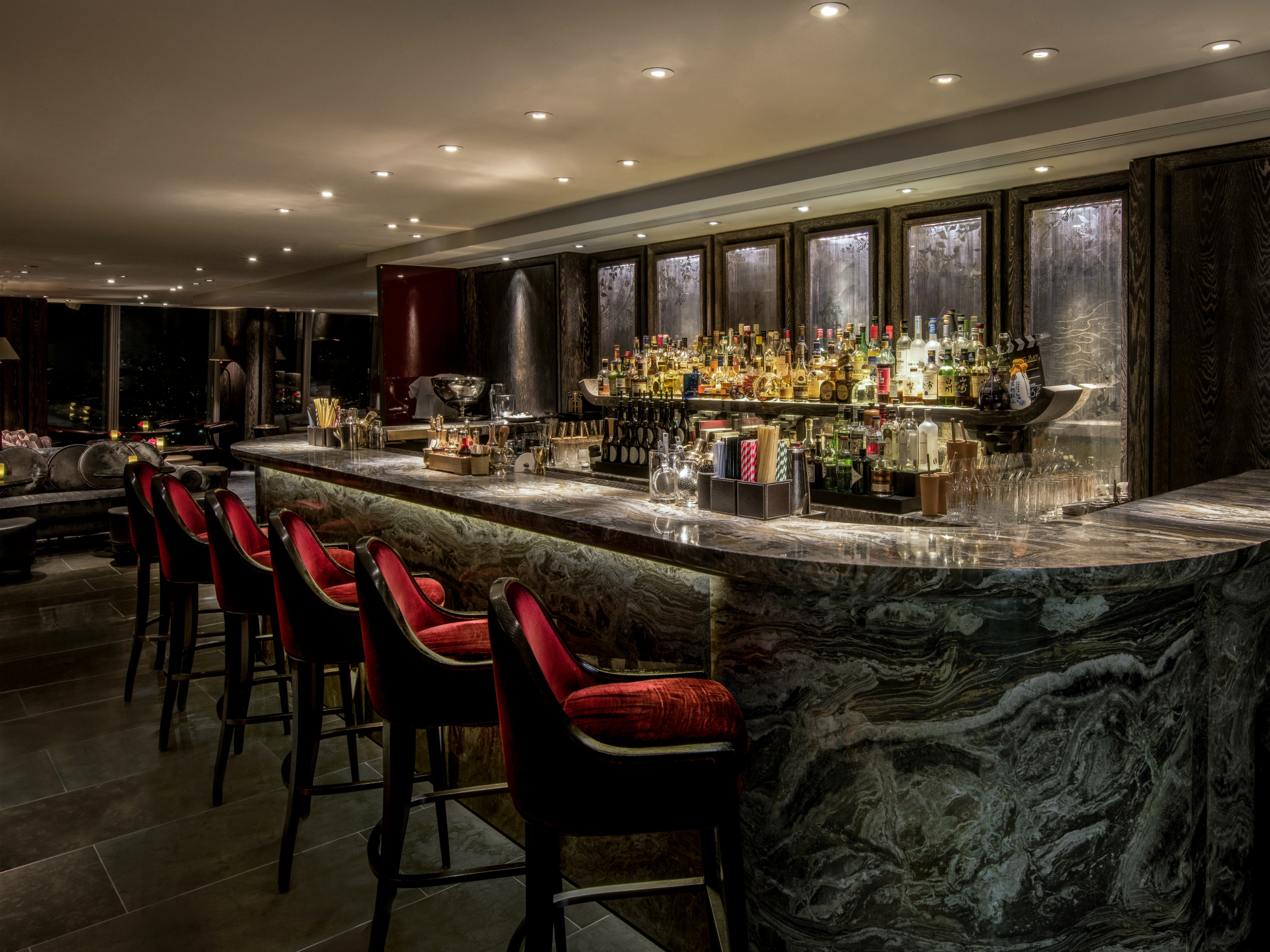 Cocktails for two at The GONG Bar at The Shard | London ...