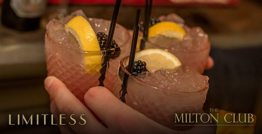 Limitless - Free flow drinks and canapés
