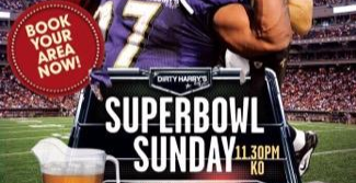 SUPERBOWL SUNDAY - open till 6am!