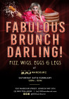 Fabulous Brunch, Darling! Drag Brunch at 100 Wardour St