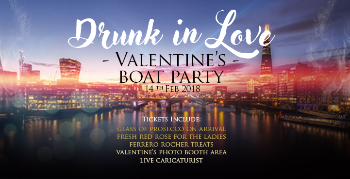 Drunk In Love! Valentine's Boat Party