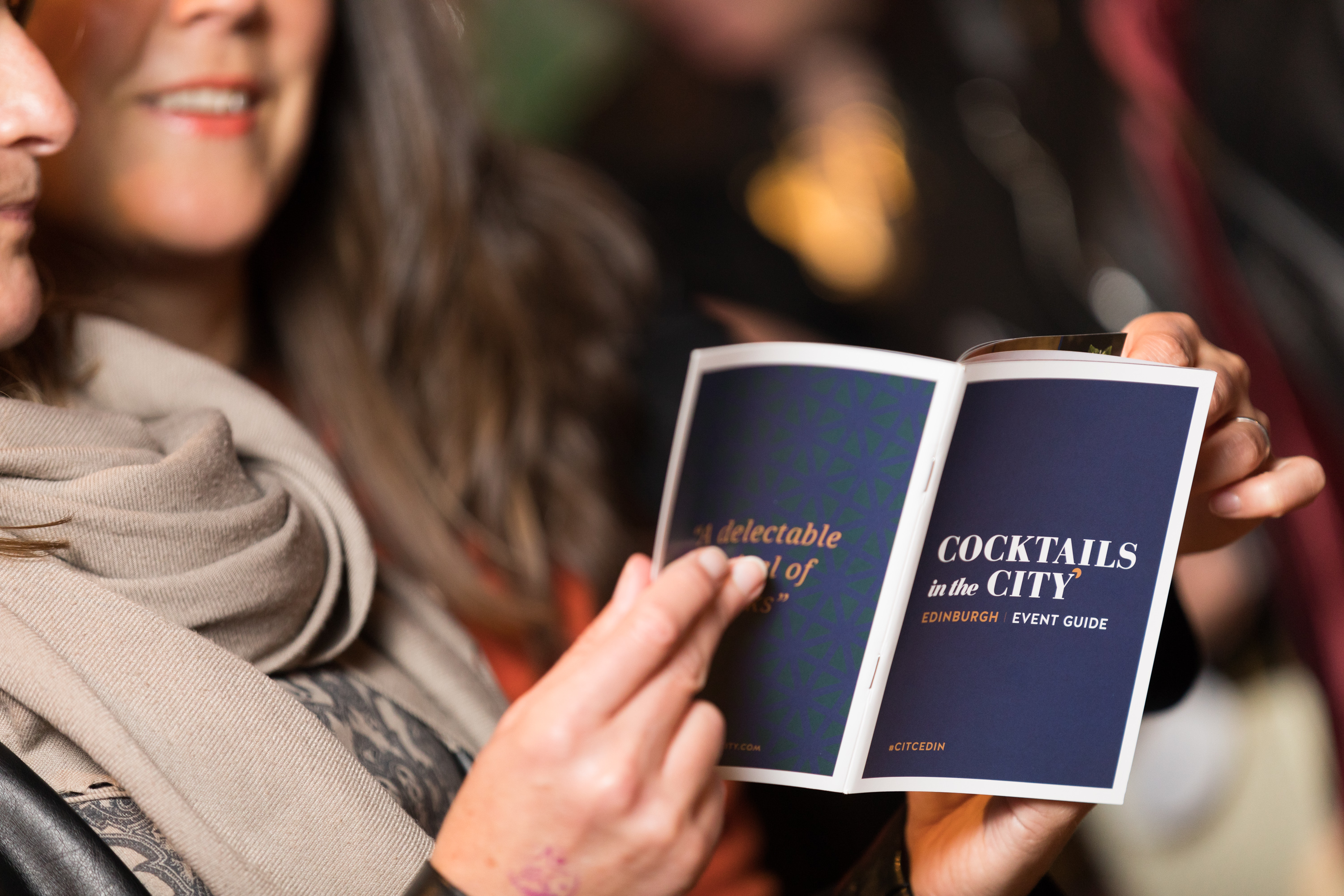 Cocktails in the City Edinburgh 2018