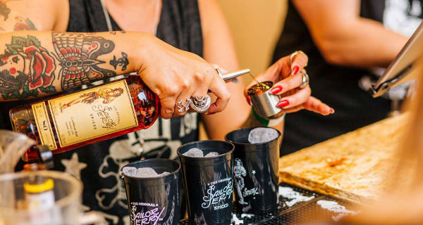 Sailor Jerry's Open House Party Glasgow
