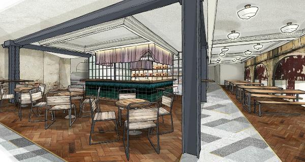 new London food halls