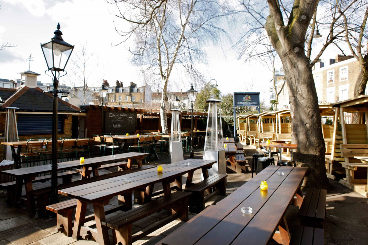 The Edinboro Castle Camden London Pub Review Designmynight