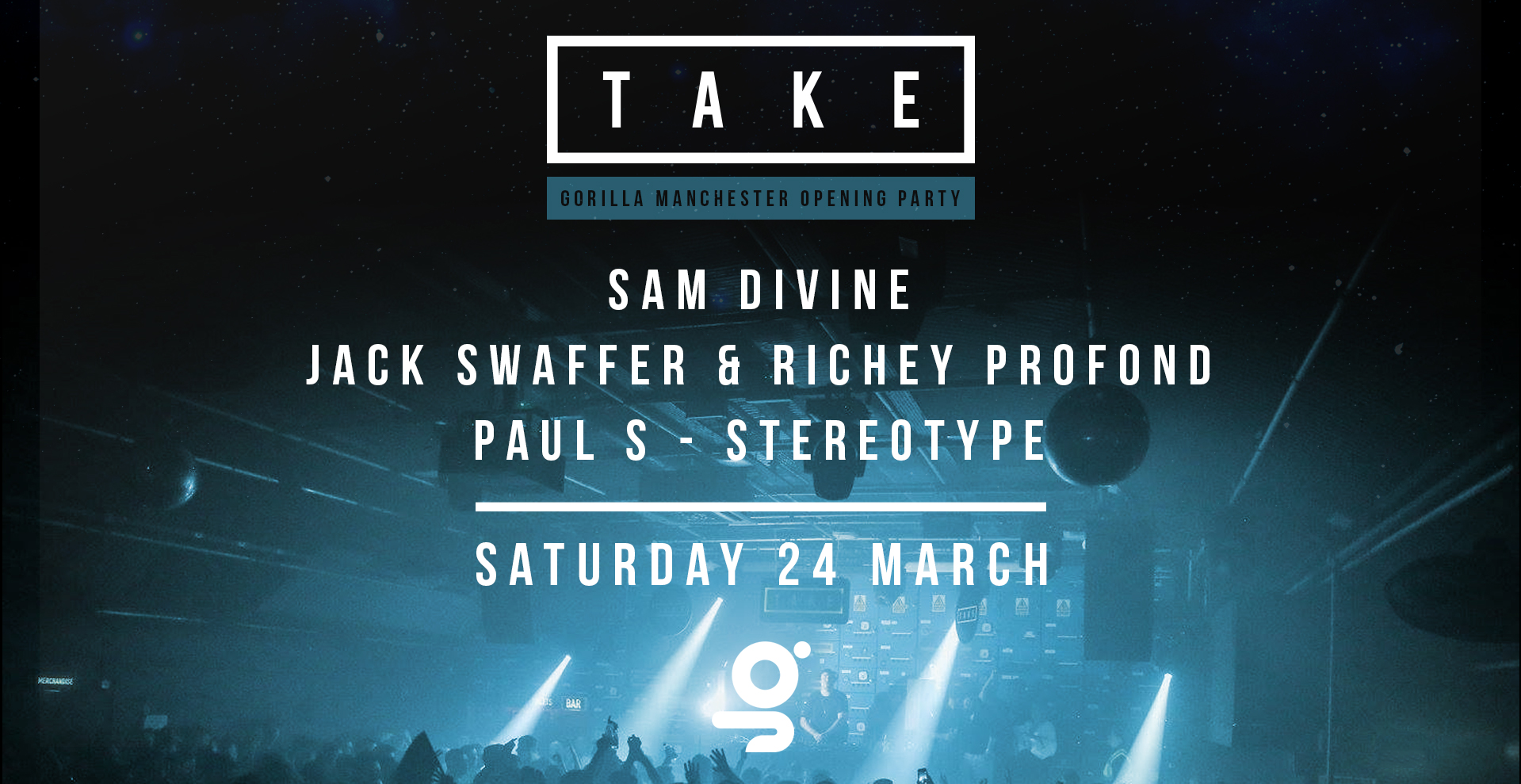Take Manchester with Sam Divine