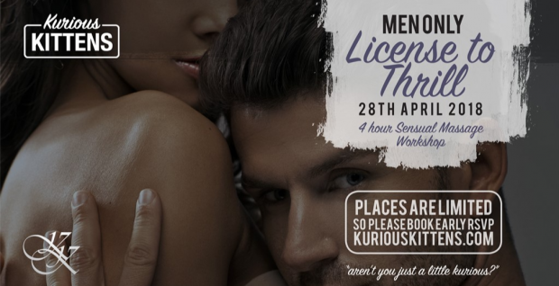 Workshop: License to Thrill  (Men Only)