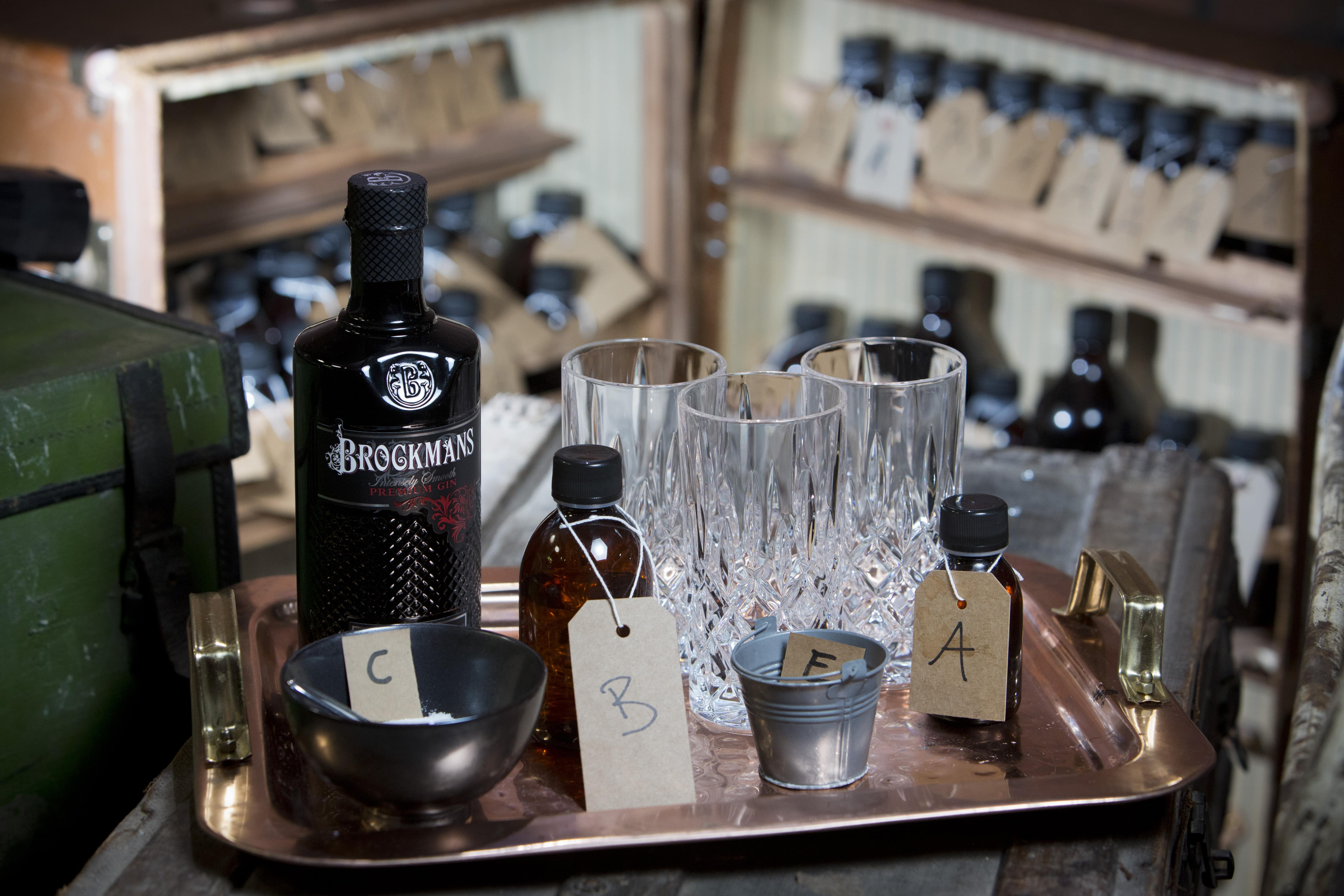 Brockmans Press For Gin