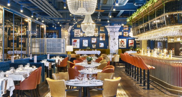 Granary Square Brasserie King's Cross Review