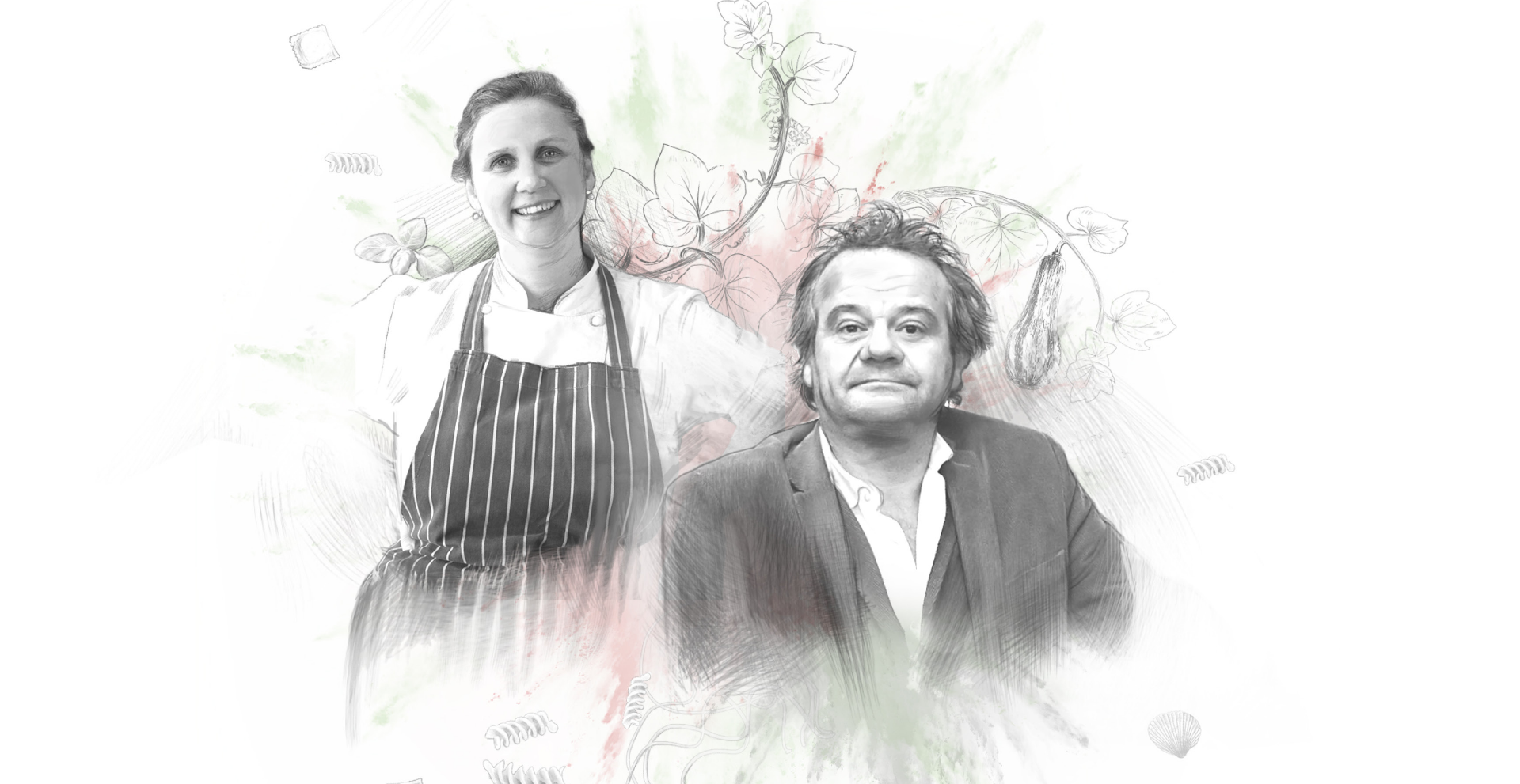 Tales from the Kitchen Library - Mark Hix and Angela Hartnett