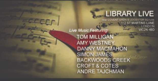 Library Live - Country & Blues (Acoustic Sessions)