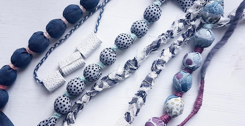 Fabric Jewellery Making Workshop Drink Shop & Do London ...