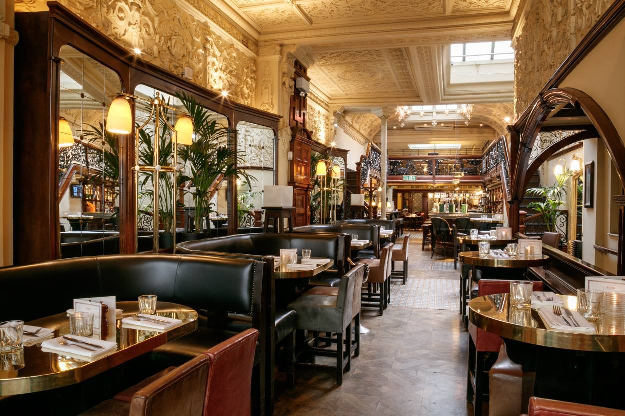Browns Brasserie Amp Bar Maddox Street Mayfair London