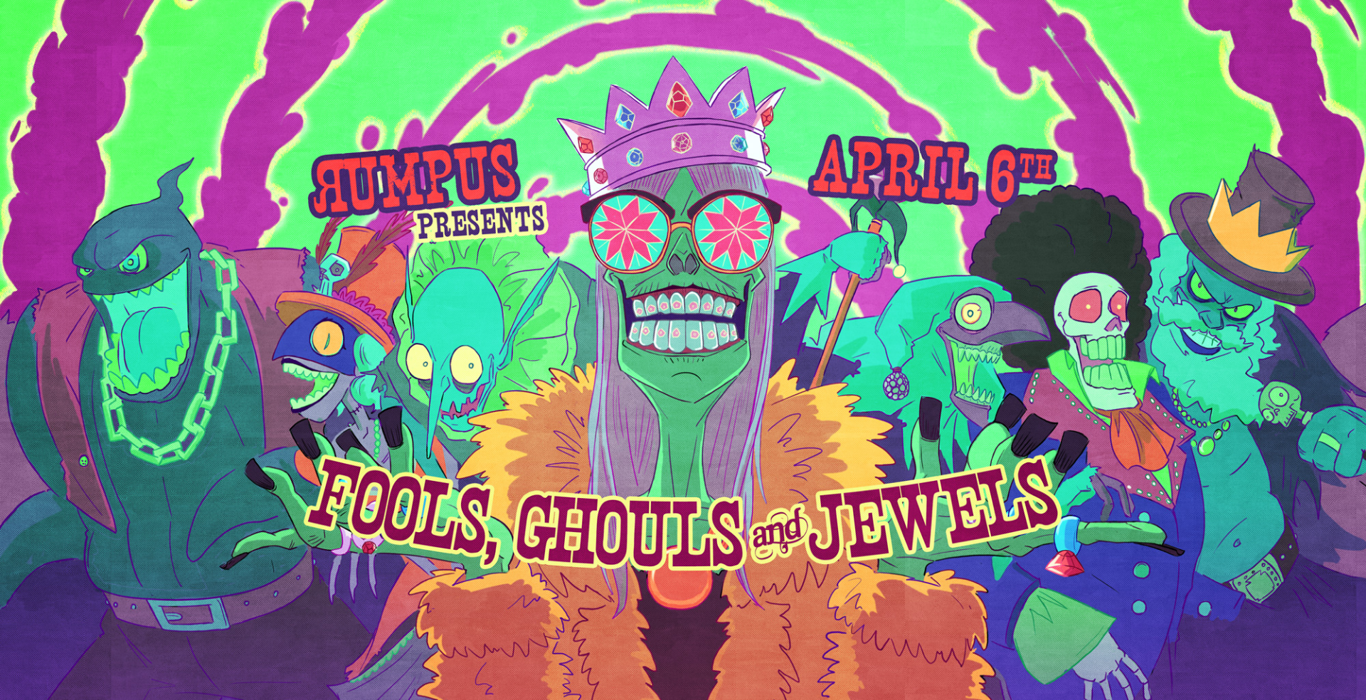 Rumpus: Fools, Ghouls & Jewels! London Games Festival Fringe.