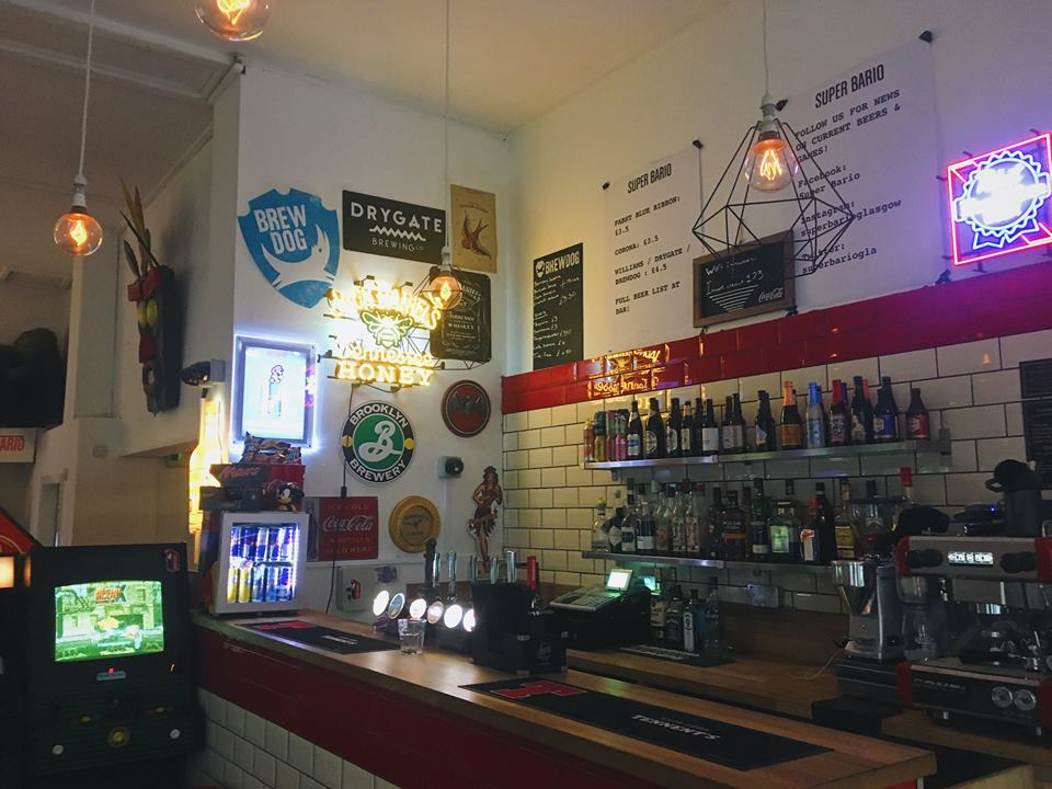 Super Bario Arcade Bar City Centre Glasgow | Glasgow Bar Reviews