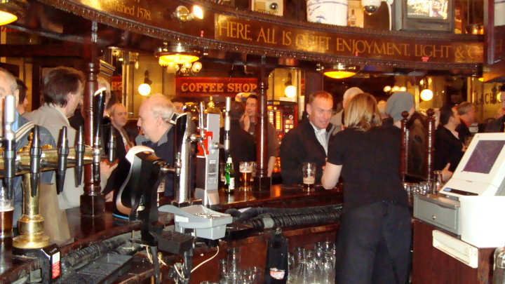 The Horseshoe Bar