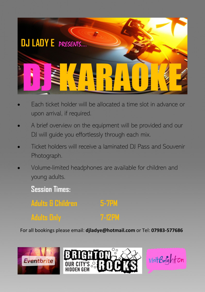 DJ Karaoke - Learn to DJ while you party!