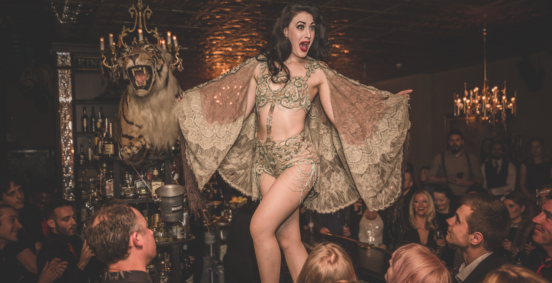 GIN HOUSE BURLESQUE - NEW YEAR'S EVE HOUSE PARTY