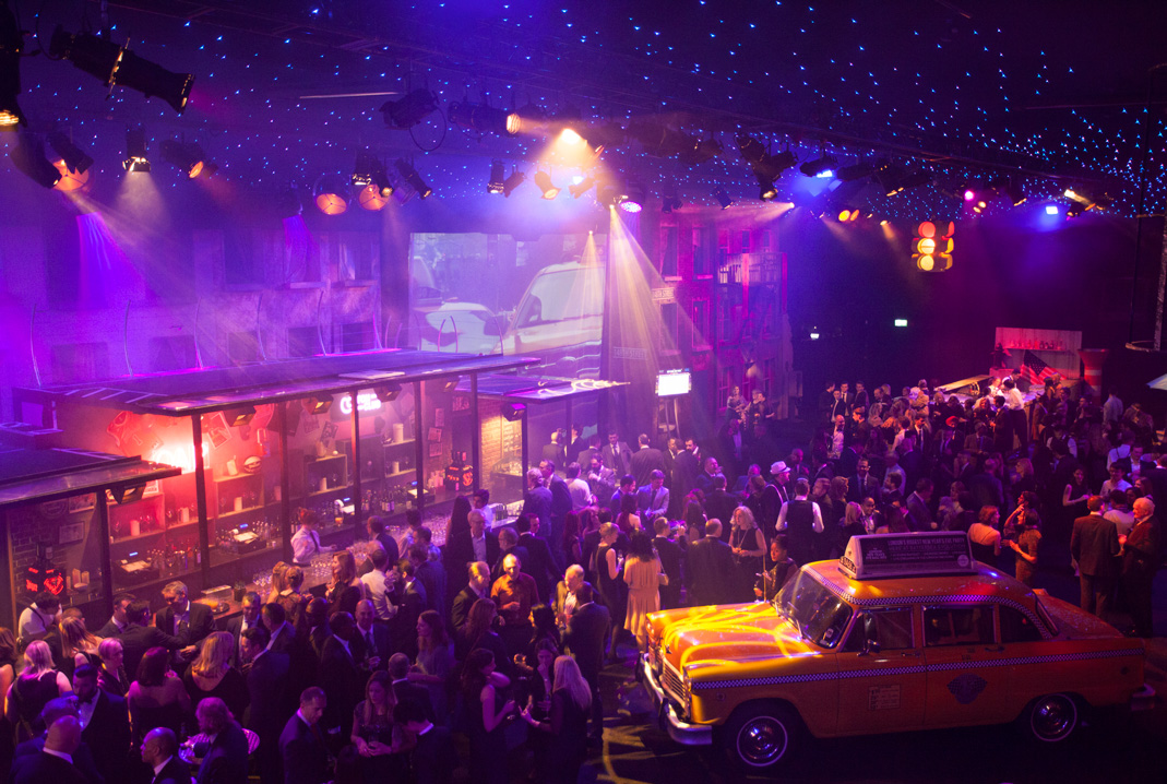 The London New Years Eve Ball