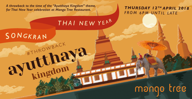 Mango Tree Thai New Year celebration
