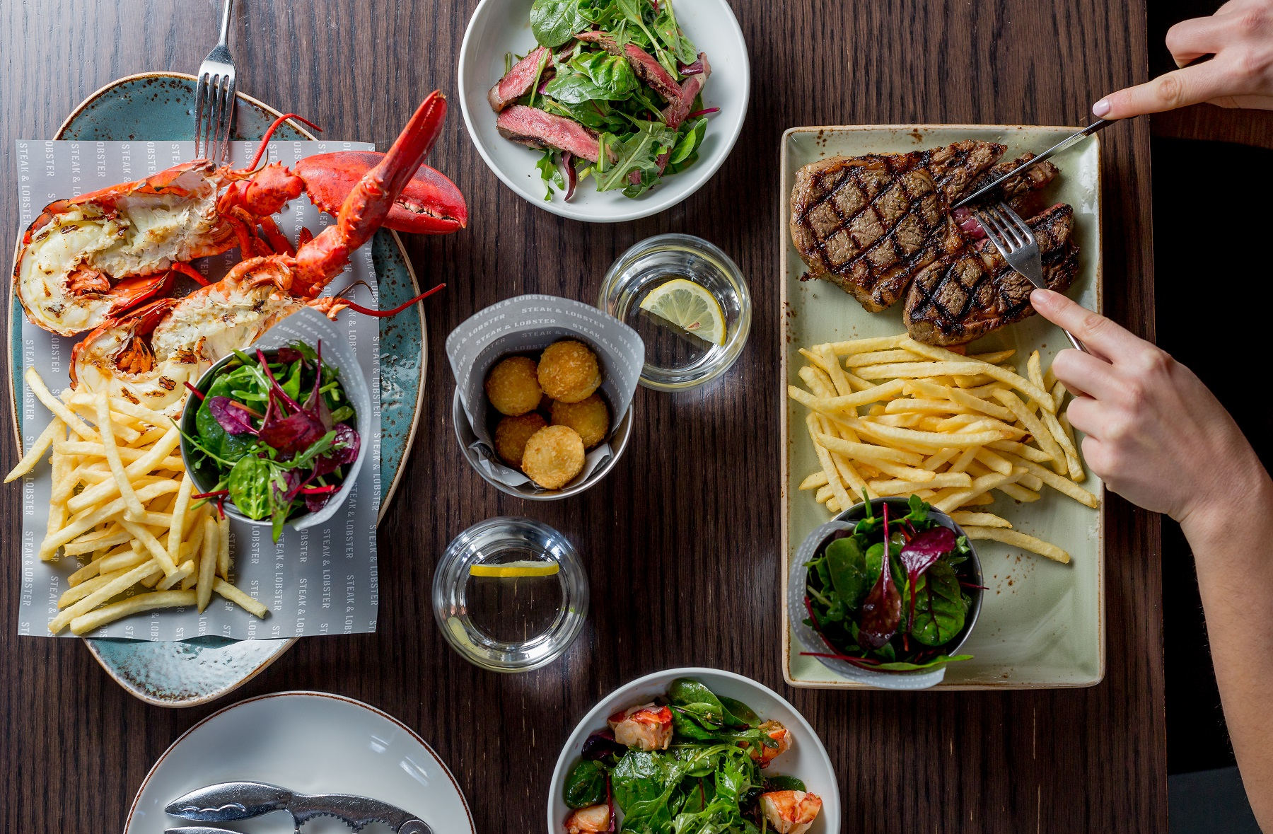 Steak & Lobster Warren Street