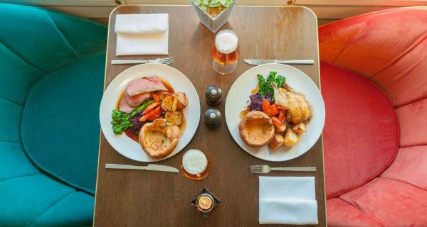 bottomless roast lunch Lanes Of London Mayfair