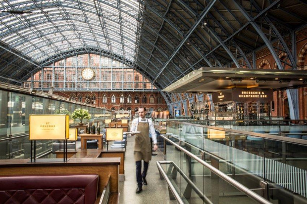 St Pancras by Searcys Brasserie and Champagne Bar