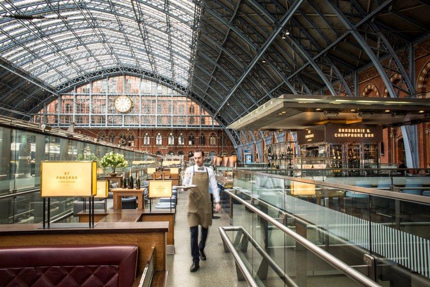 150th Anniversary Dinner of St Pancras Station