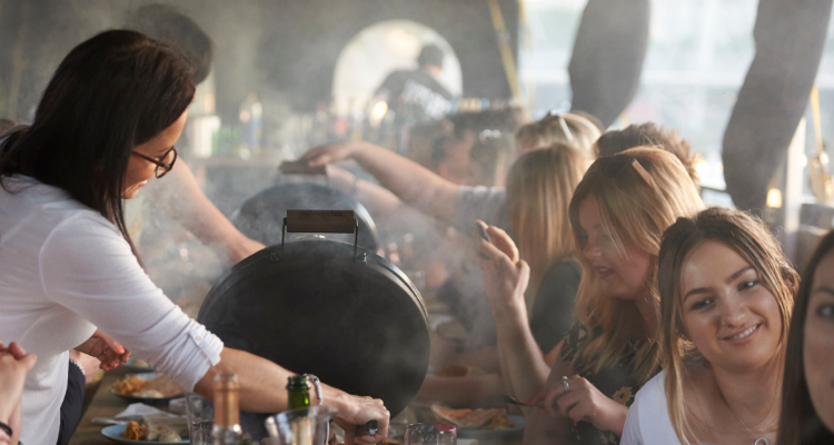 Jimmy's BBQ Club Southbank London