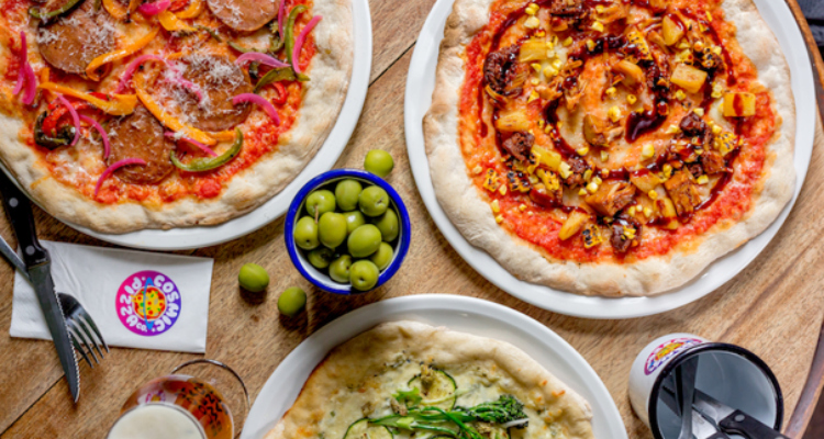 Cosmic Pizza Bottomless Brunch Brighton