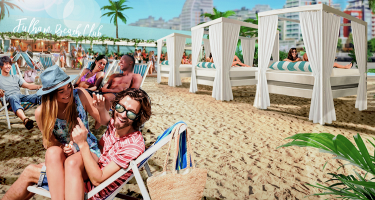 Neverland returning as Fulham Beach Club